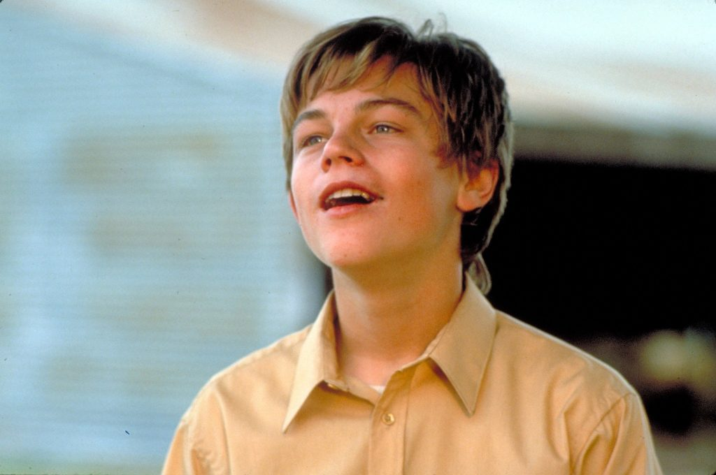 DiCaprio en What's Eating Gilbert Grape