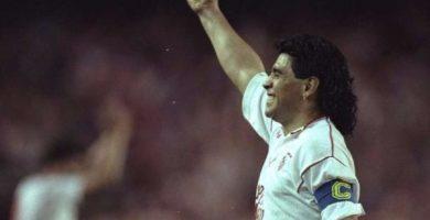 Maradona y Sevilla
