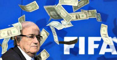 Joseph Blatter y el dinero