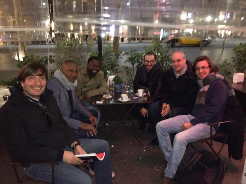 De izquierda a derecha: Ignacio Benedetti, Noel Sanvicente, Jacinto Elá, Iñaki García, Álex Couto y Pablo Sierra.