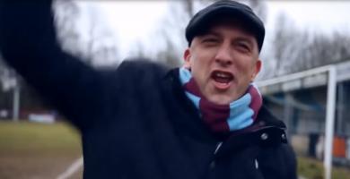Steve Davies, un aficionado especial del West Ham