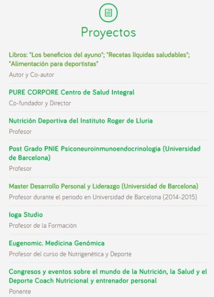 Proyectos de Edgar Barrionuevo